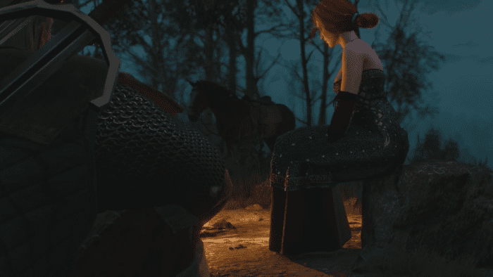 Witcher 3 triss mod play as yennefer ciri shani