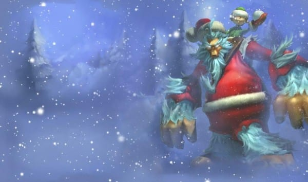 league of legends slowdown showdown winter skin splash Workshop Nunu