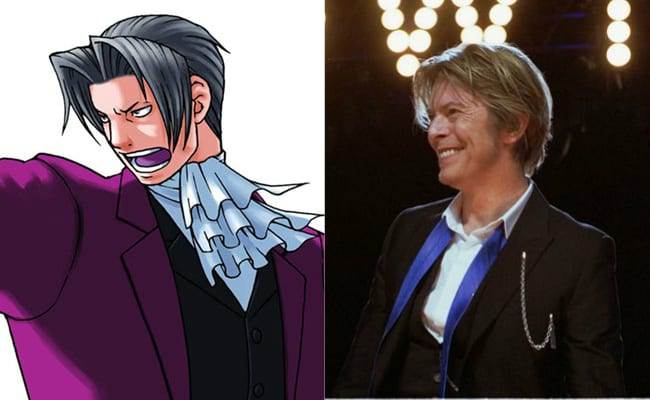David Bowie is in every video game, Miles Edgeworth, Ace Attorney