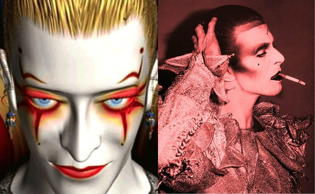 Final Fantasy VI, Kefka Palazzo, David Bowie is in every video game