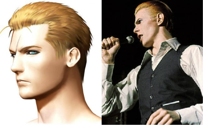 David Bowie is in every video game, Final Fantasy VIII, Seifer Almasy