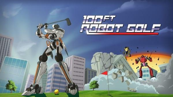 playstation vr, weirdest games, virtual reality, weird, 100ft Robot Golf
