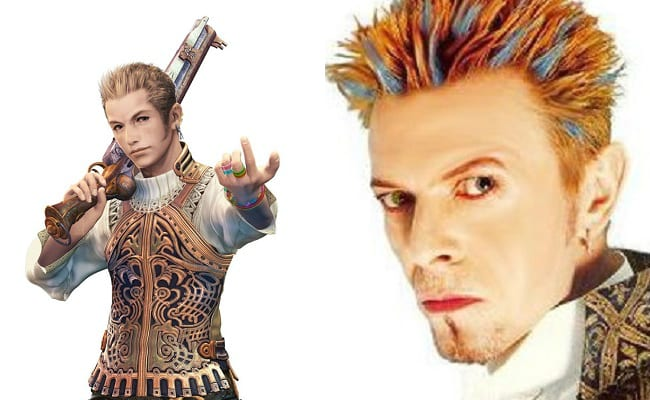 Final Fantasy XII, Balthier, David Bowie is in every video game