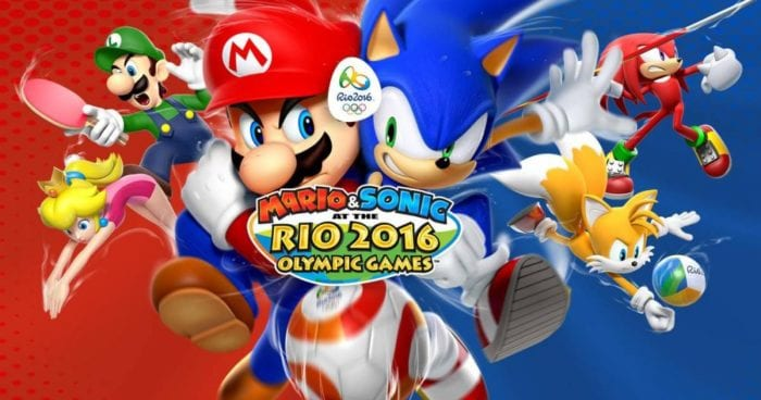 mario & sonic, rio, olympic games