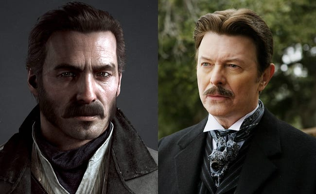 David Bowie is in every video game, The Order 1886, Grayson