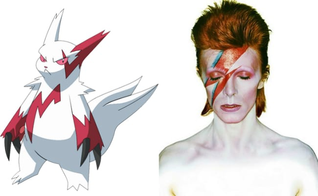 David Bowie is in every video game, Pokemon Ruby, Zangoose