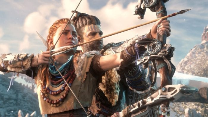 Horizon Zero Dawn, PS4,