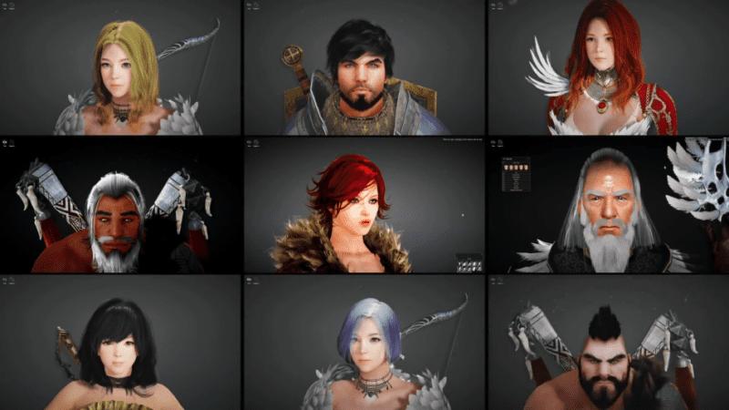 black desert online character creation