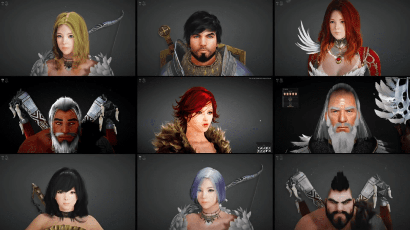 BDO character creation