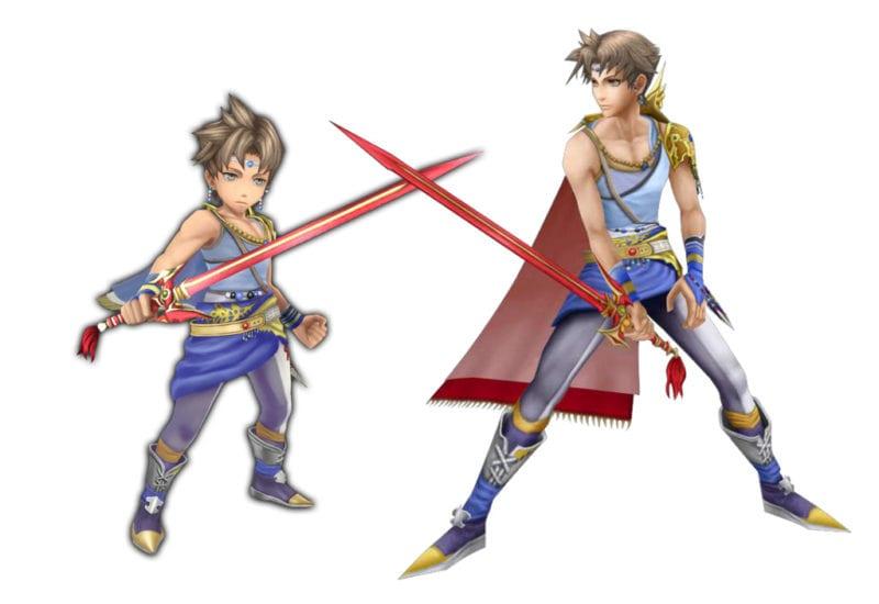 Bartz Final Fantasy V vs explorers cameo