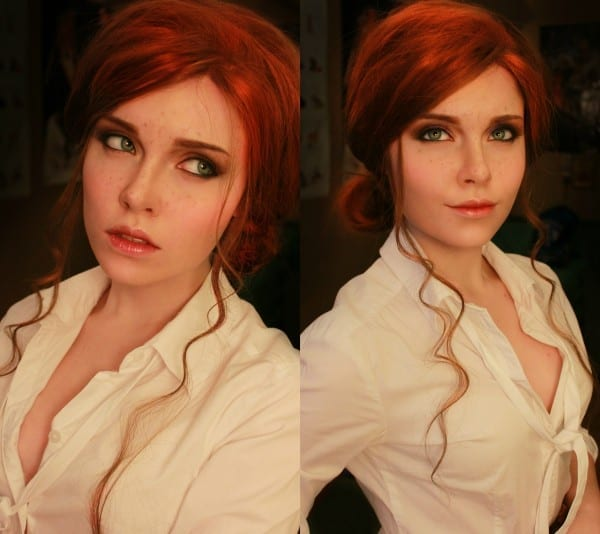 cosplay, triss merigold, witcher 3