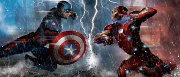 Captain America, Civil War, Marvel