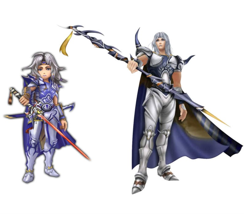 Cecil Final Fantasy IV vs Final Fantasy Explorers
