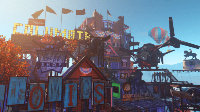 Fallout 4, Bioshock Infinite, settlement