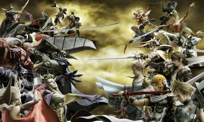 Final Fantasy Dissidia cast