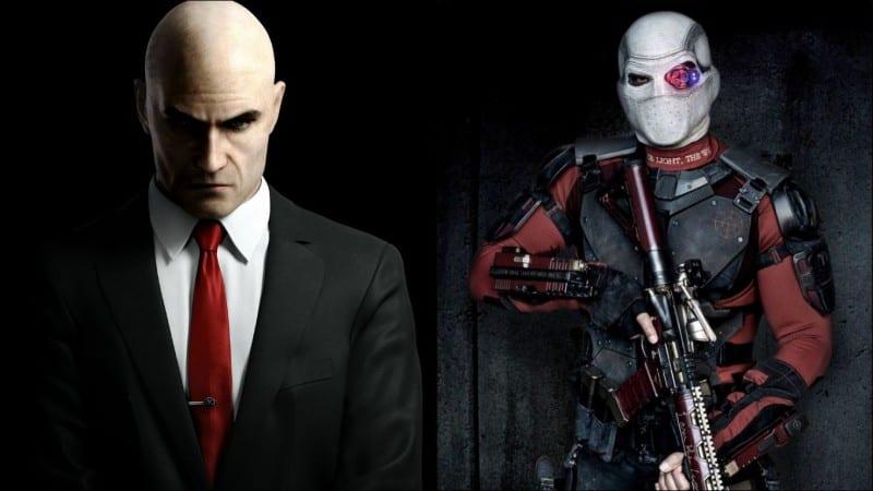 suicide squad, deadshot, hitman, agent 47