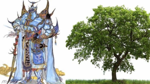 final fantasy, exdeath, v, tree
