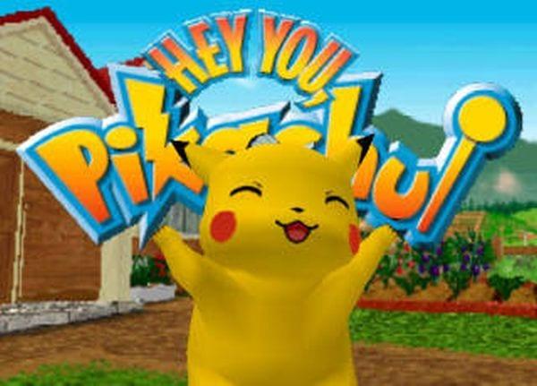 34. Hey You, Pikachu! (2000) - N64