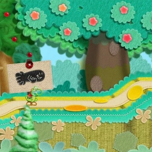 Yoshi's Woolly World early 1