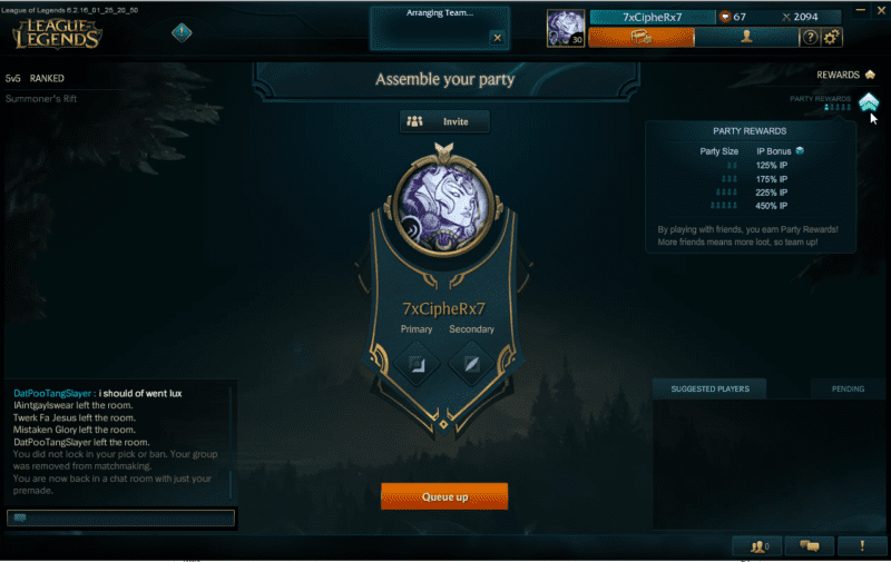 League of Legends bonus