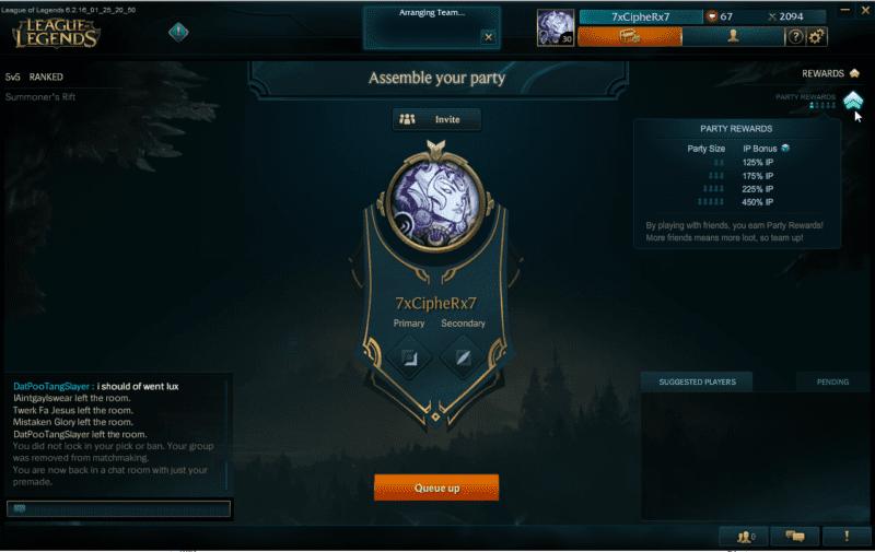 League of Legends bonus