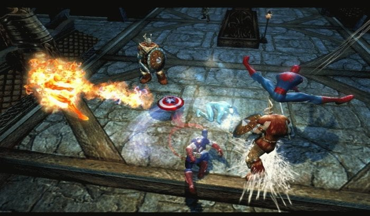 Marvel Ultimate Alliance Cap