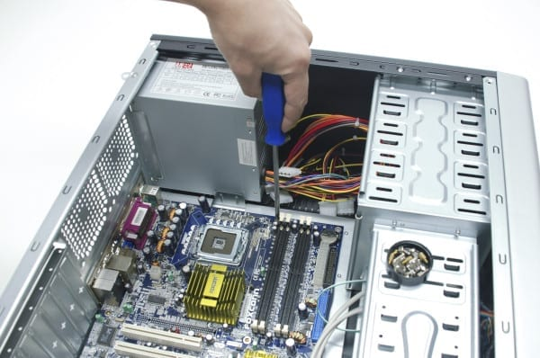 pc, how to, build, mount motherboard