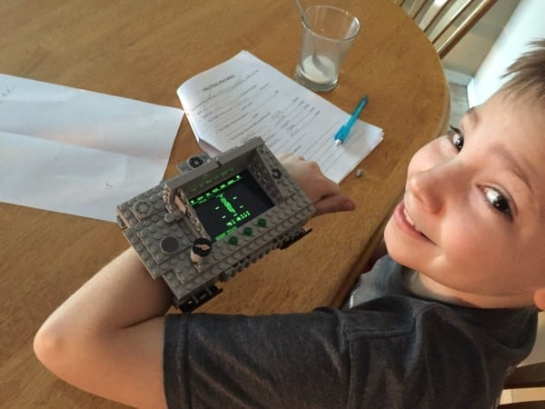 Pip Boy, legos, 5th grade,