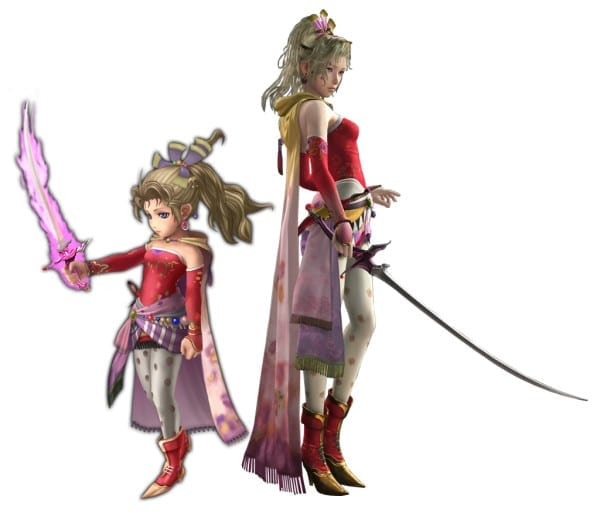 Terra Final Fantasy VI vs explorers cameo
