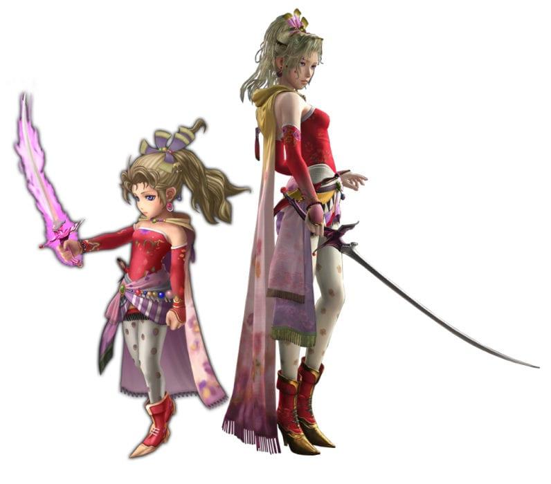 Terra Final Fantasy VI vs explorers cameo