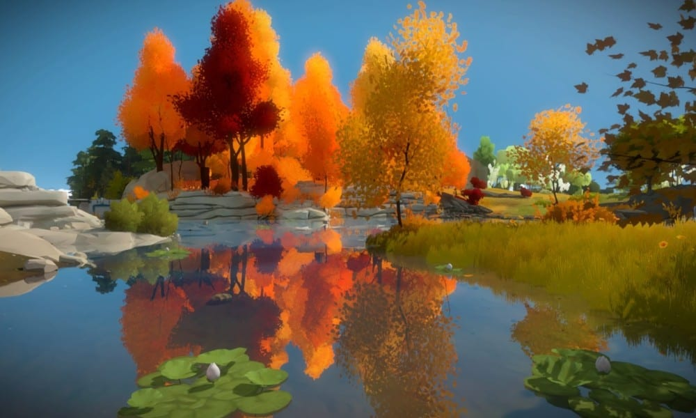 the witness  jungle laser puzzles walkthrough