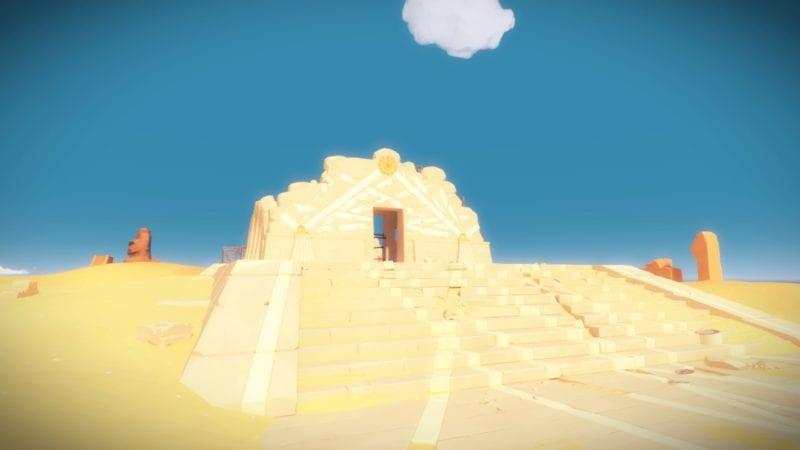 the witness desert ruins