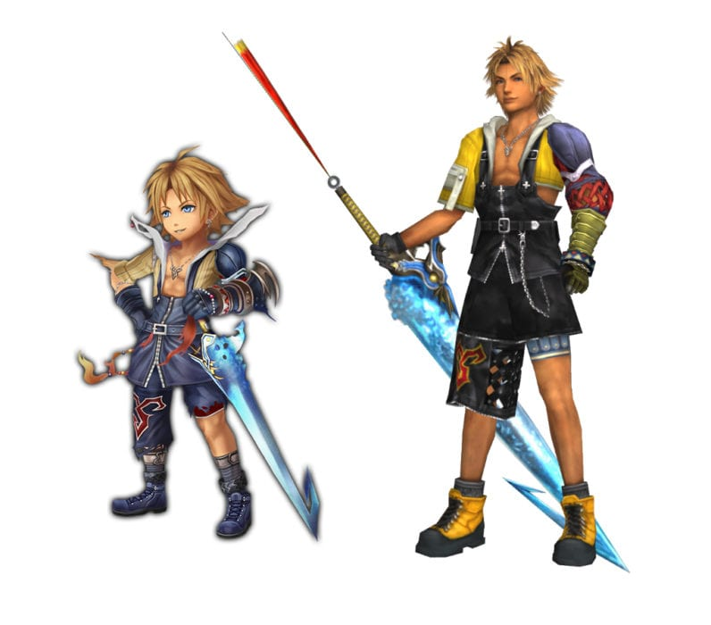 Tidus Final Fantasy X vs explorers