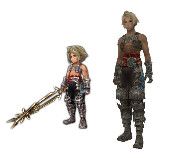 Vaan Final Fantasy XII vs explorers
