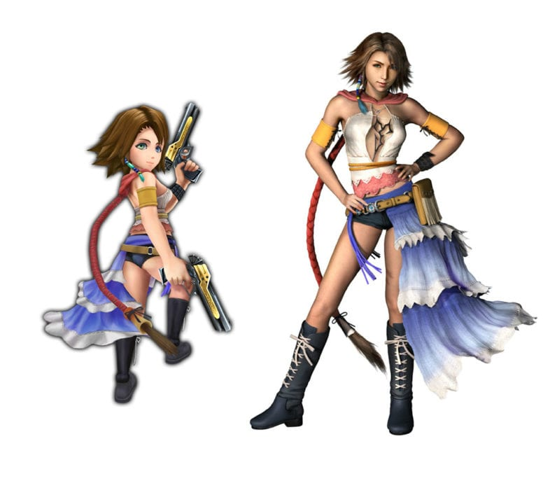 Yuna Final Fantasy X-2 vs explorers