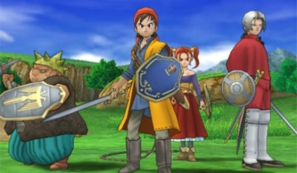 Dragon Quest 8, ps2, ps4