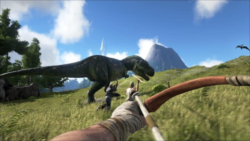 Ark Survival Evolved How To Paint Dinosaurs The original colors are added as a comment.