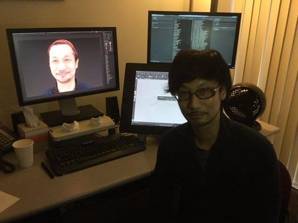 hideo kojima cerny tech world tour matrix scan virtual
