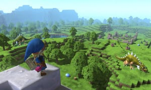 Dragon Quest Builders, Minecraft