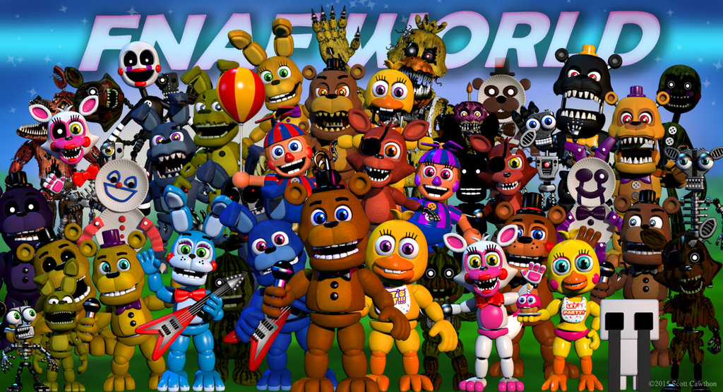 FNaF World released too early, Five Nights at Freddy's creator admits