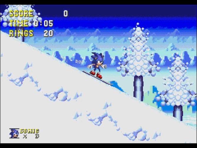 ice cap zone