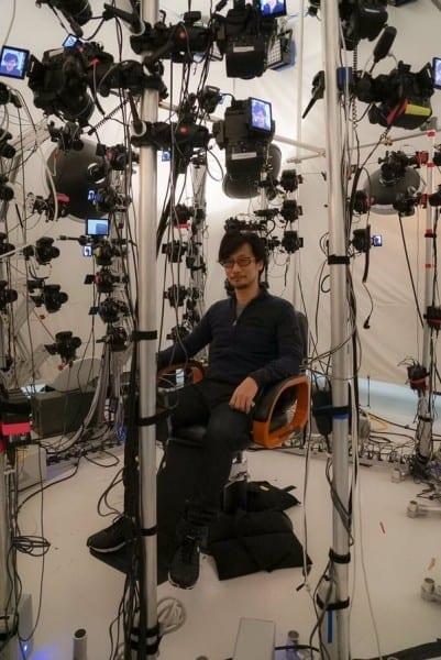 hideo kojima sony cerny chair cameras capture technology tour