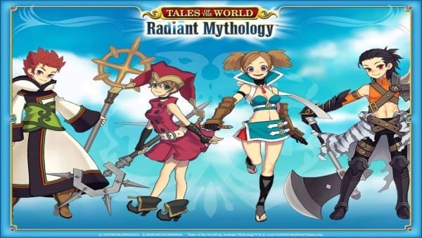 tales of the world, radiant mythology, tales, series