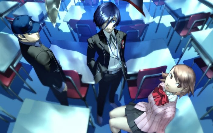 persona 3, ps2, ps4