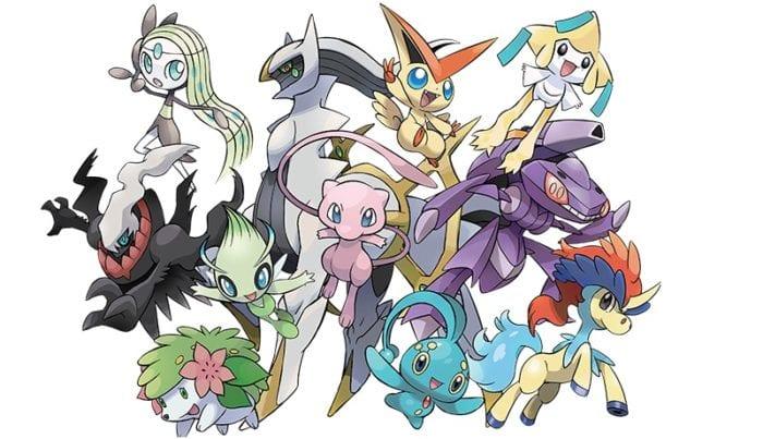 pokemon mythicals 2