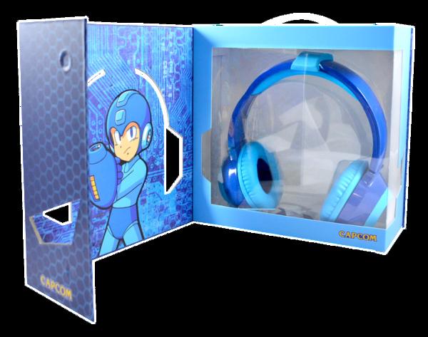 Megaman Headphones Dos