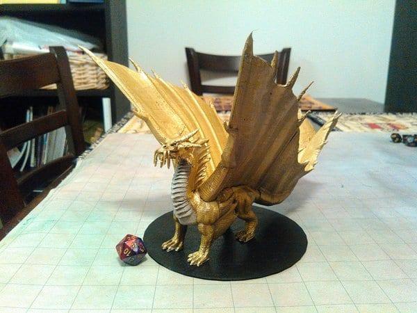 3D Printed D&D Draggy