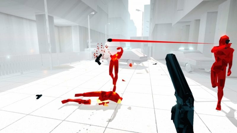 SUPERHOT, review