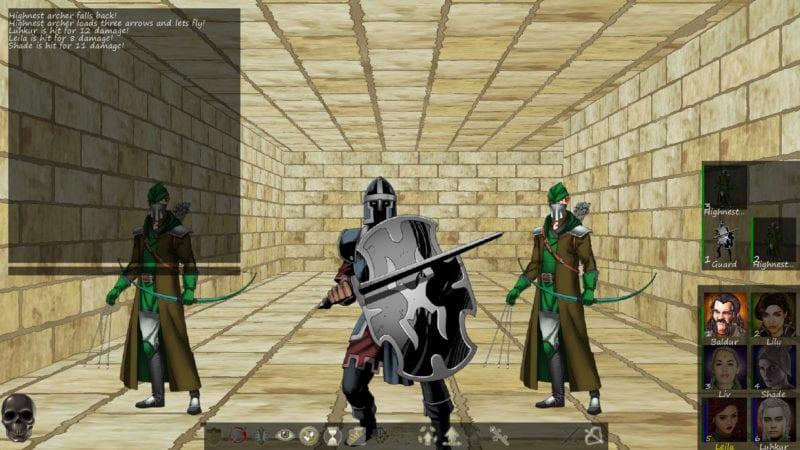 sword and sorcery underworld combat