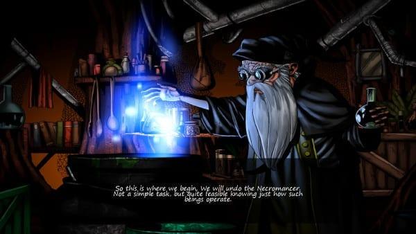 Swords and Sorcery Underworld Cutscene